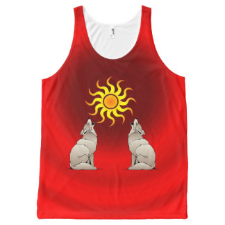 HOWLING COYOTES All-Over PRINT TANK TOP