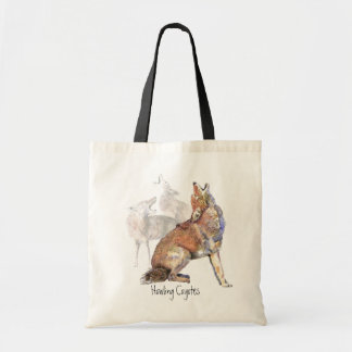Howling Coyotes Shopping Bag tote