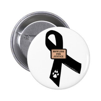 Howling For Justice 6 Cm Round Badge