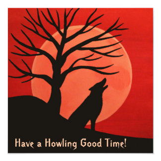 Howling Good Time Invitation