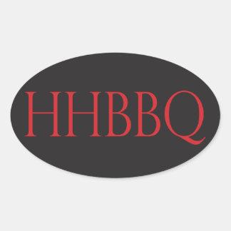 Howling Hog Barbecue Euro Sticker