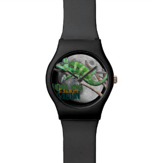 Howling Lizard Moon Wristwatch