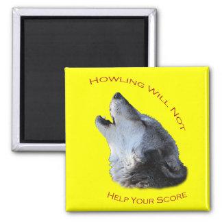 Howling...Score Refrigerator Magnet