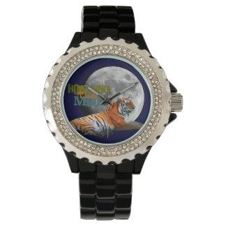 Howling Tiger Moon Wristwatch