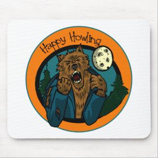 Howling Werewolf Mousepad