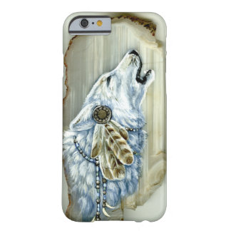 Howling White Wolf Barely There iPhone 6 Case