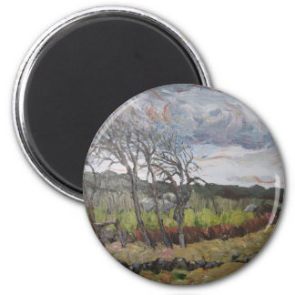 Howling Winds Magnet