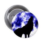 Howling Wolf at Moon Pins