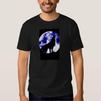 Howling Wolf at Moon Shirt