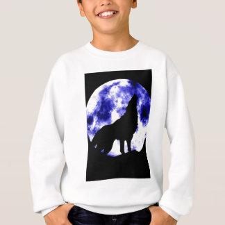 Howling Wolf at Moon Sweatshirt
