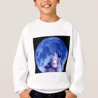 Howling Wolf at Moon Tshirt