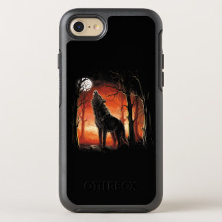 Howling Wolf at Sunset OtterBox iPhone 7 Case