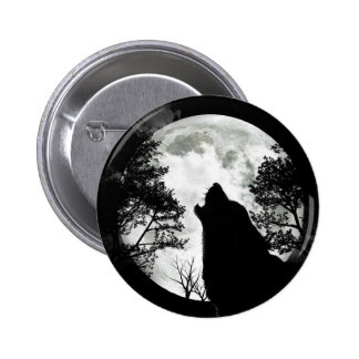 Howling Wolf Pin