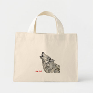 howling wolf bag