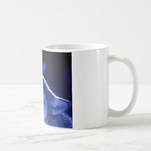 Howling Wolf Basic White Mug