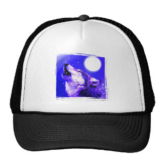 Howling Wolf Hat