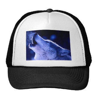 Howling Wolf Mesh Hats