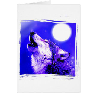 Howling Wolf Cards
