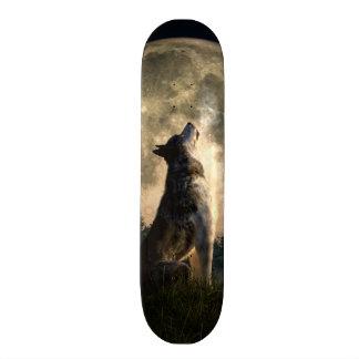 Howling Wolf Custom Skateboard