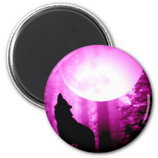 Howling Wolf Magnets