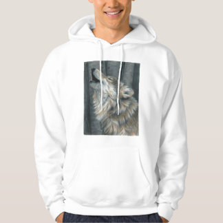 Howling Wolf mens or ladies Unisex sweatshirt