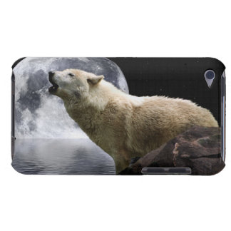 Howling Wolf Moon Wild Animal iPod Case Case-Mate iPod Touch Case