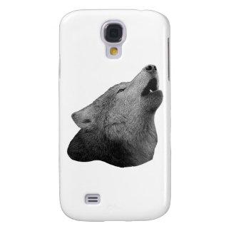 Howling Wolf - Stylized Image Galaxy S4 Case