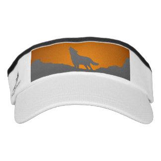 Howling wolf visor