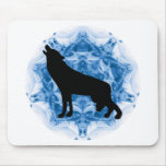 Howling Wolf Wolves Mouse Mats