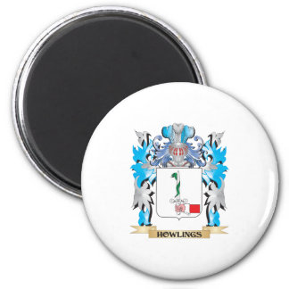 Howlings Coat of Arms - Family Crest Fridge Magnets