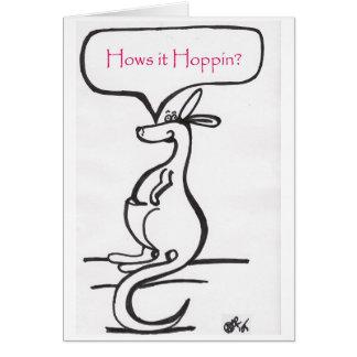 Hows it Hoppin?  (versian 1) Card