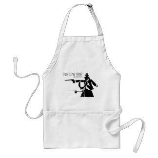 How's my Aim Adult Apron