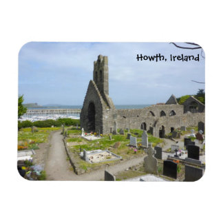 Howth Church Ruins Rectangular Photo Magnet