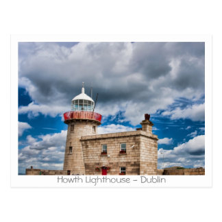 Howth Lighthouse Post Card