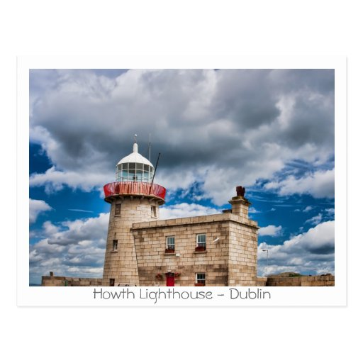 Howth Lighthouse Post Card