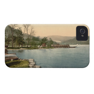 Howtown Pier Lake District Cumbria England iPhone 4 Case-Mate Case