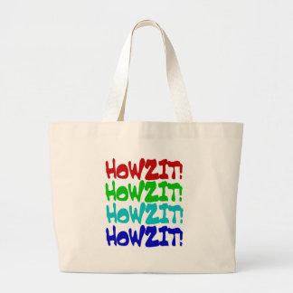 Howzit from Hawaii Jumbo Tote Bag