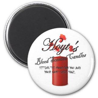 Hoyt s Blood Scented Candles Refrigerator Magnet