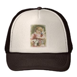 Hoyt s German Cologne Ladies Perf Calendar 1894 Mesh Hat