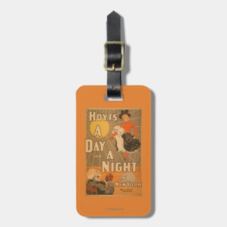 Hoyt's A day and a night in New York City Play Bag Tag