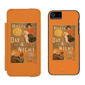 Hoyt's A day and a night in New York City Play Incipio Watson™ iPhone 5 Wallet Case