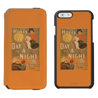 Hoyt's A day and a night in New York City Play Incipio Watson™ iPhone 6 Wallet Case