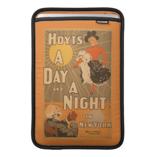 Hoyt's A day and a night in New York City Play Sleeve For MacBook Air