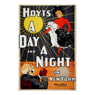 Hoyt's A day and a night in New York Poster