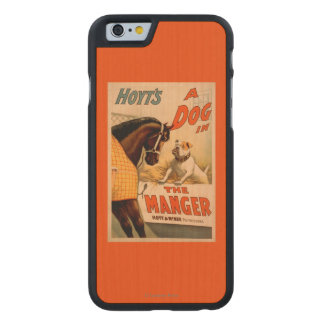 Hoyt's A dog in the Manger Theatre Poster Carved® Maple iPhone 6 Case