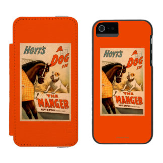 Hoyt's A dog in the Manger Theatre Poster Incipio Watson™ iPhone 5 Wallet Case