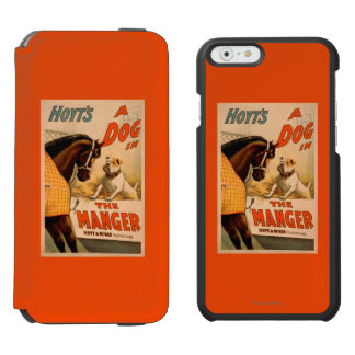 Hoyt's A dog in the Manger Theatre Poster Incipio Watson™ iPhone 6 Wallet Case