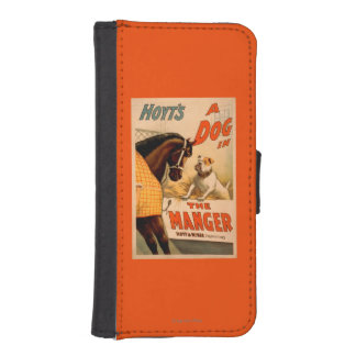 Hoyt's A dog in the Manger Theatre Poster iPhone SE/5/5s Wallet Case