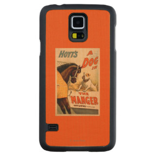 Hoyt's A dog in the Manger Theatre Poster Maple Galaxy S5 Case