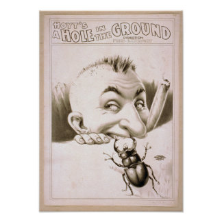 Hoyt's A hole in the ground Print